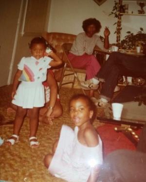 Sassy, young Aleia, circa 1984