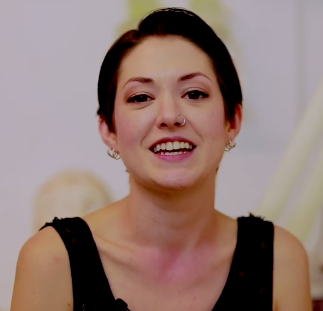 Watch a video behind the scences with Becci Mapes.