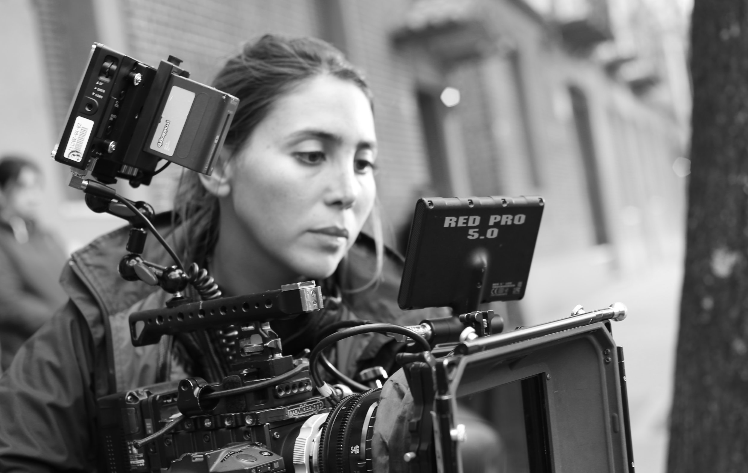 JACKIE TEBOUL - CINEMATOGRAPHERJackie is a French-native cinematographer with an eye for the unusual and a taste for the challenging.Her passion for diversity can be seen in the range of projects she is lensing: from a family drama shot entirely on a fishing boat, to an exploration of the last days of Captain Scott's expedition.Jackie's work covers documentaries as well as fiction and has been recognised by numerous festivals.