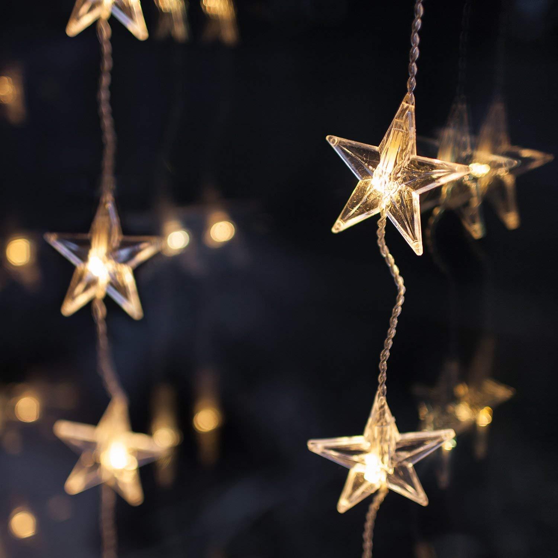 Tenda di luci a stella -