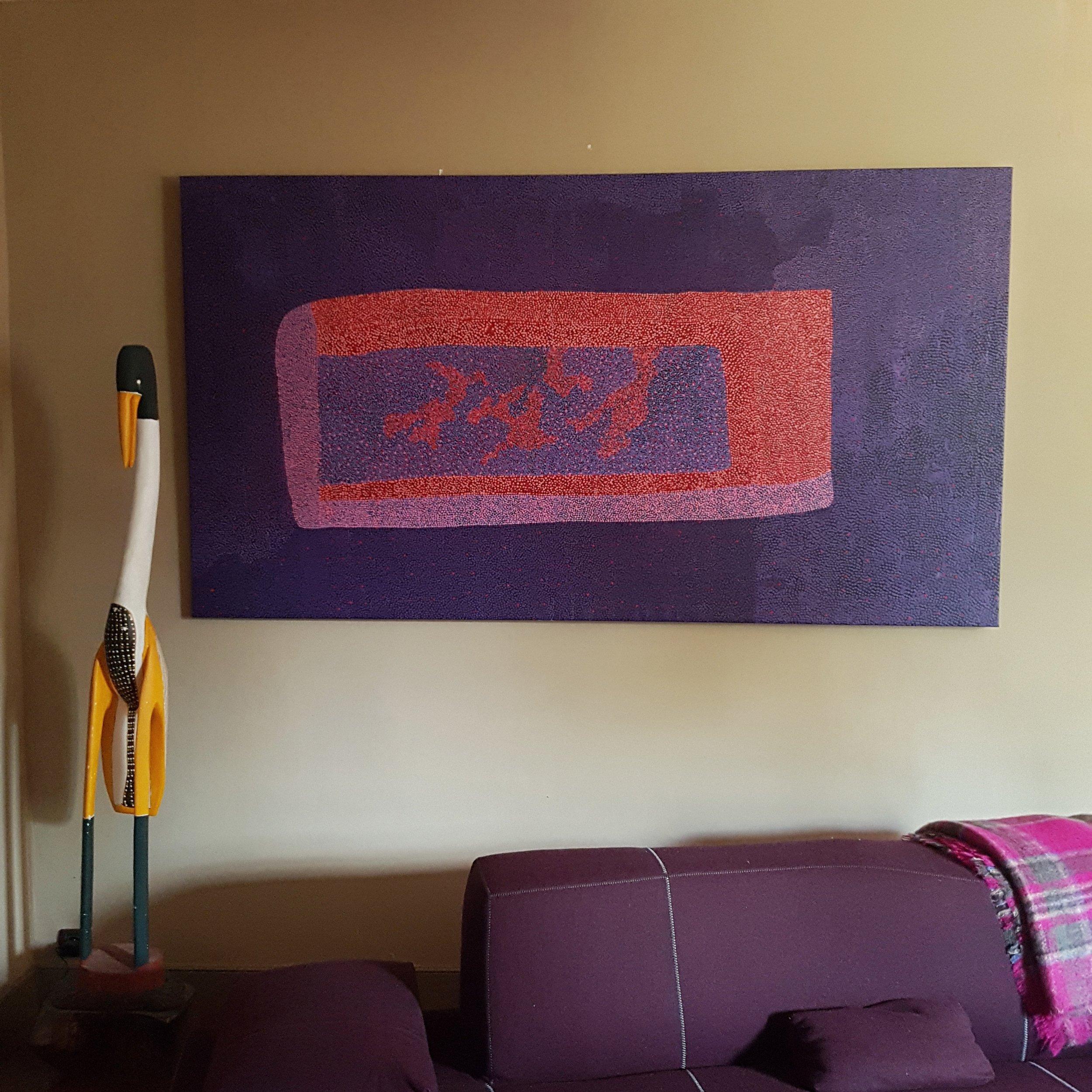 Painting by Josie Petrick