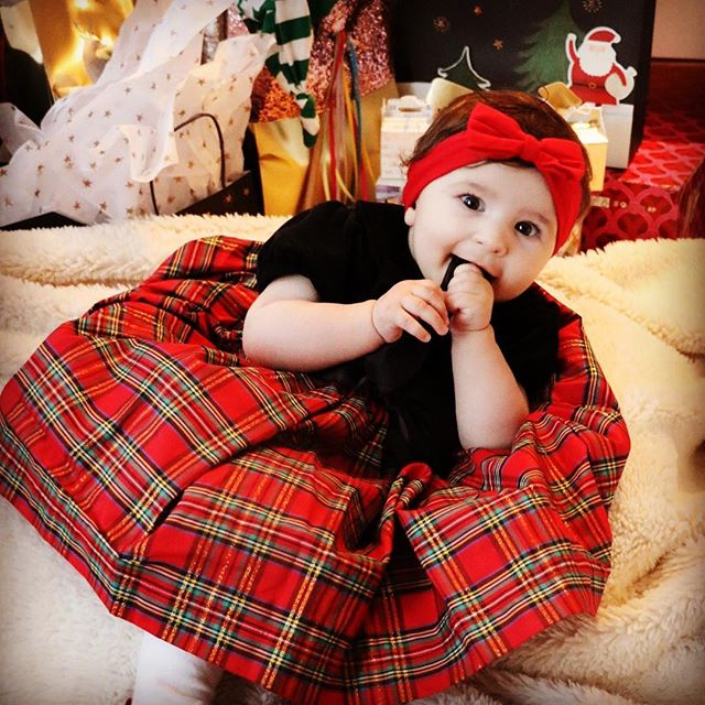 I'm so excited for my first xmas! #babygeorgia #ratemybaby