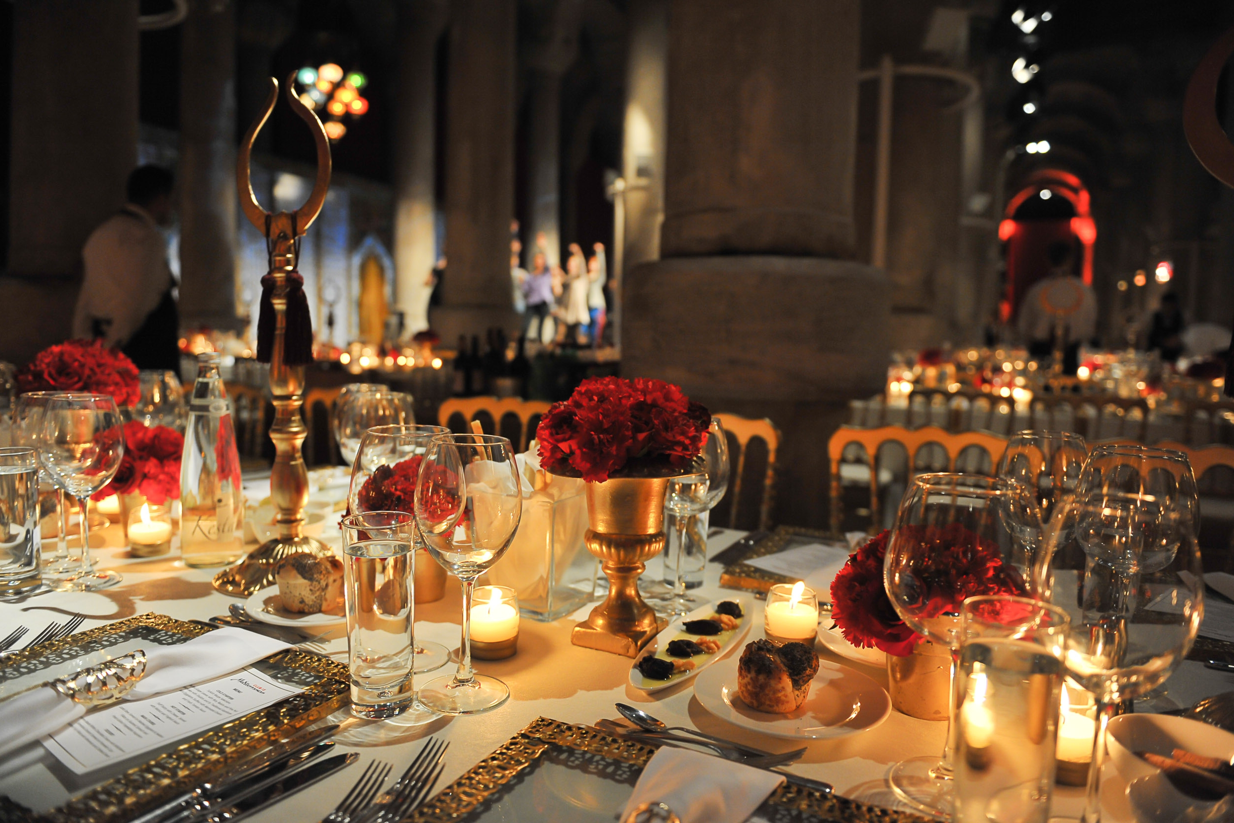 Gala in an Istanbul Cistern - An affair inspired by the Golden Age of the Topkapi Palace and the Ottoman Empire.