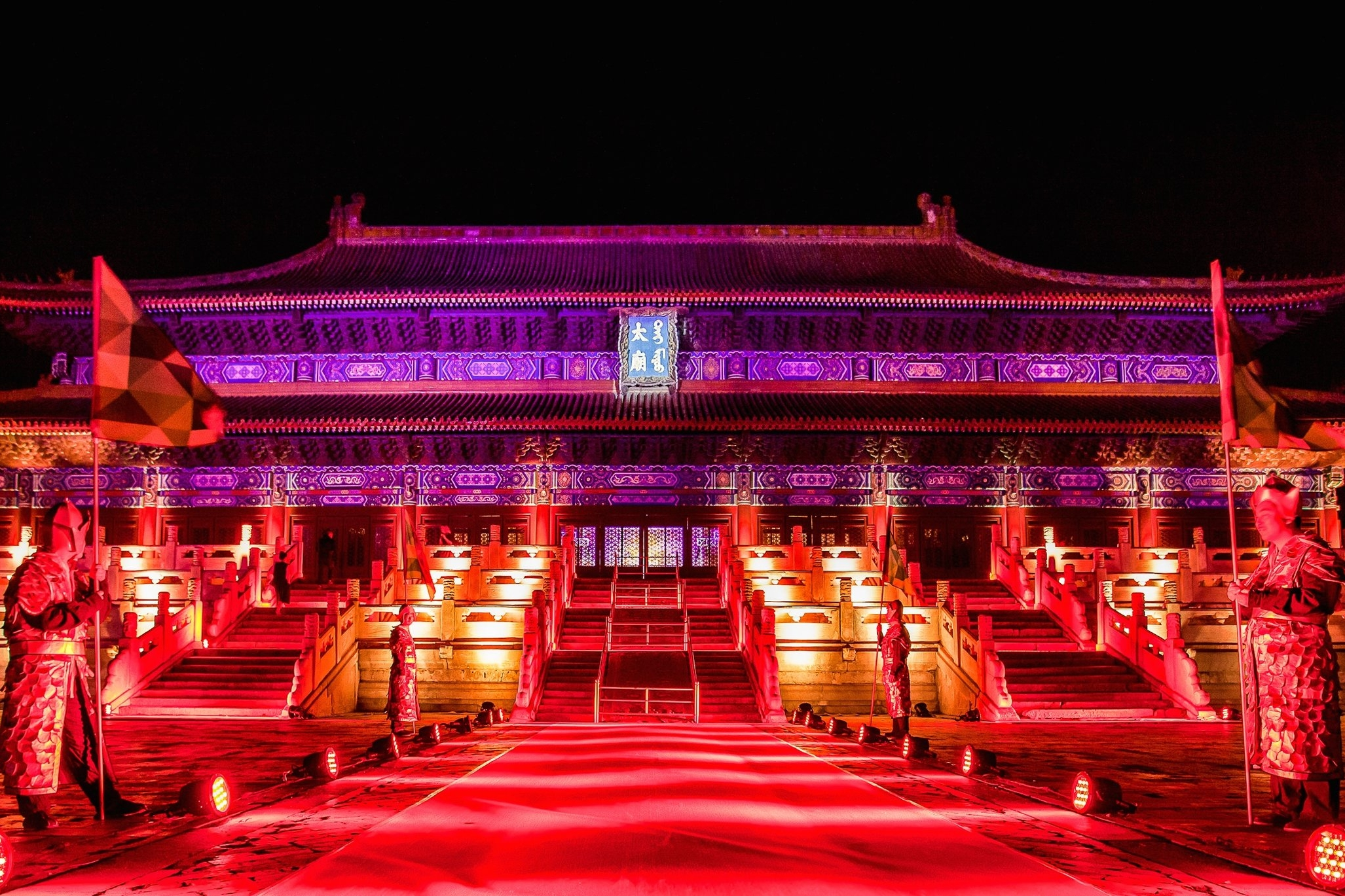 Private Banquet in Beijing - A cultural fête at Beijing's historic Imperial Ancestral Temple.