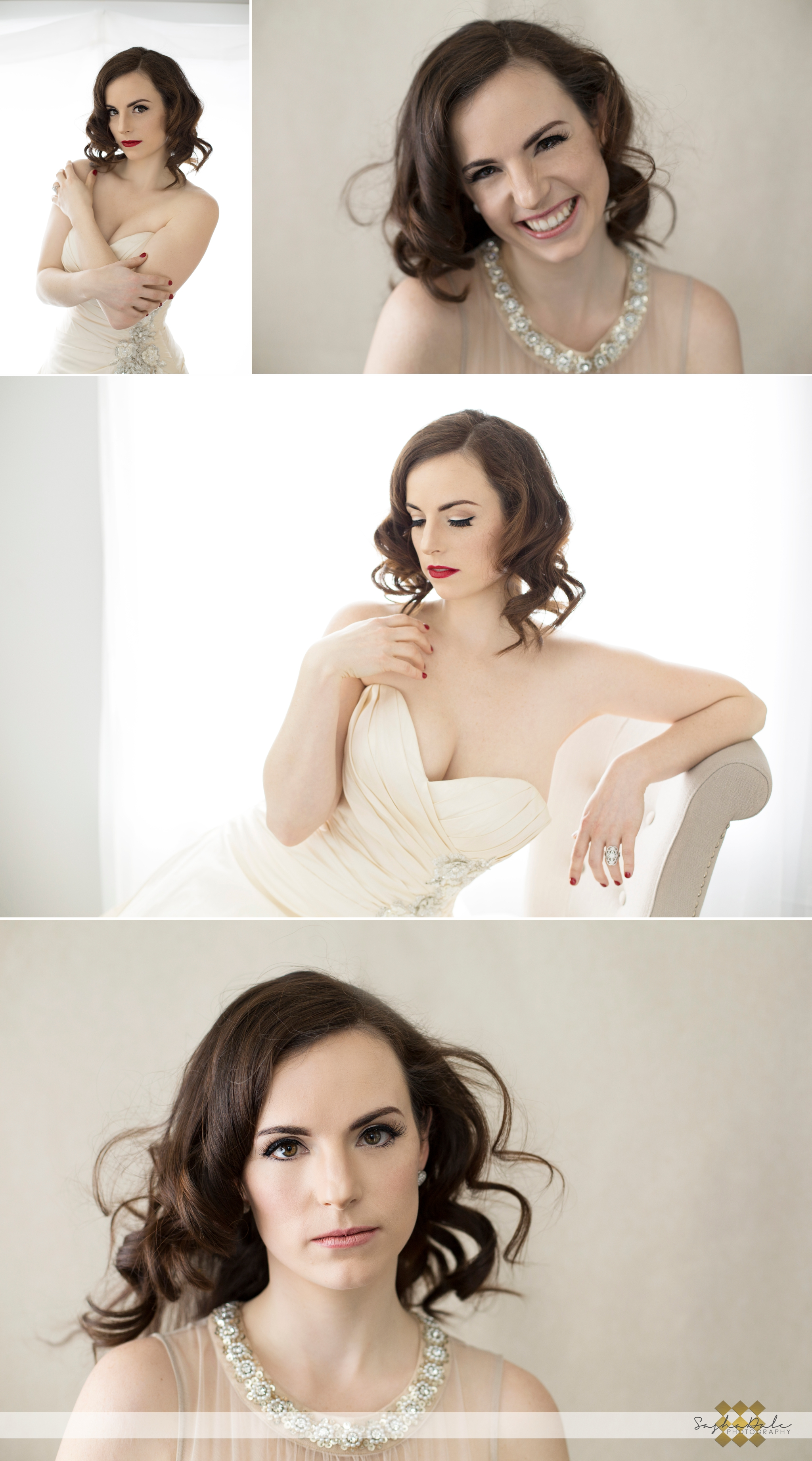 ct glamour photography, glamour portaits, bridal photography, bride, white dress, backlighting, hair and makeup