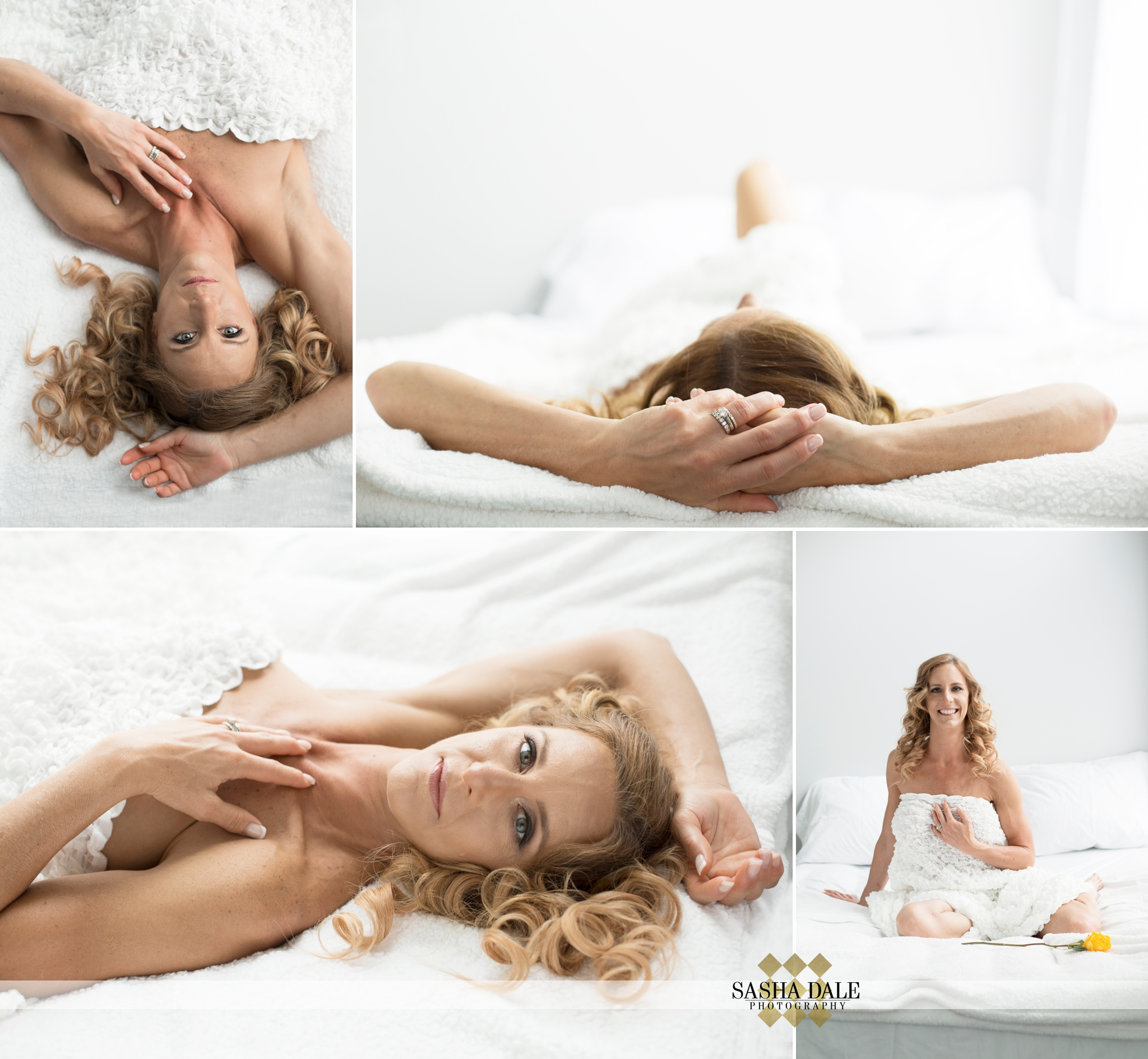 bodybuilding, fitness competition, CT boudoir, Connecticut boudoir photographer, sexy lingerie, white sheets, New Preston, Litchfield County
