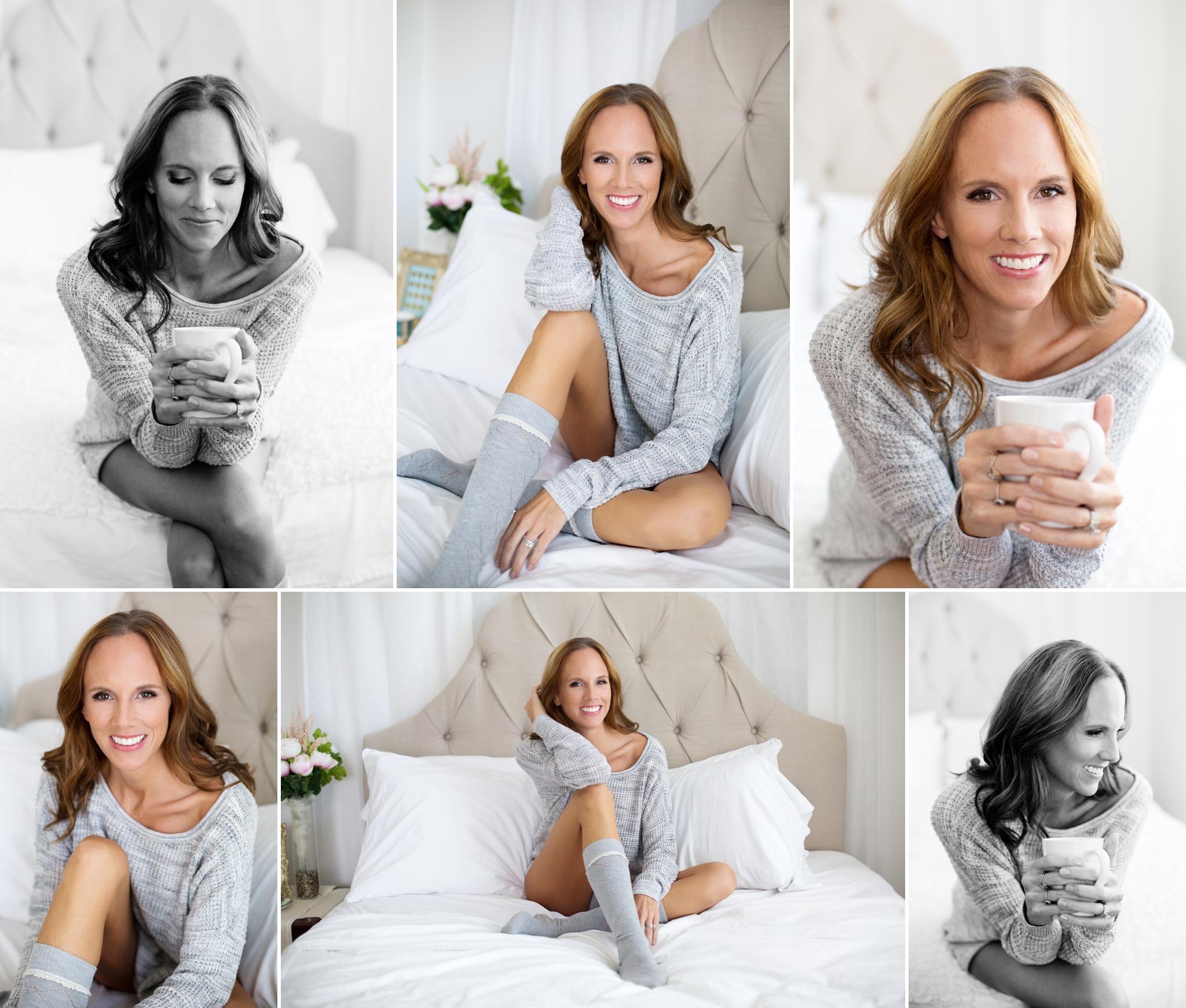 Sasha Dale Photography, surrogate mother, boudoir portraits, cozy sweater