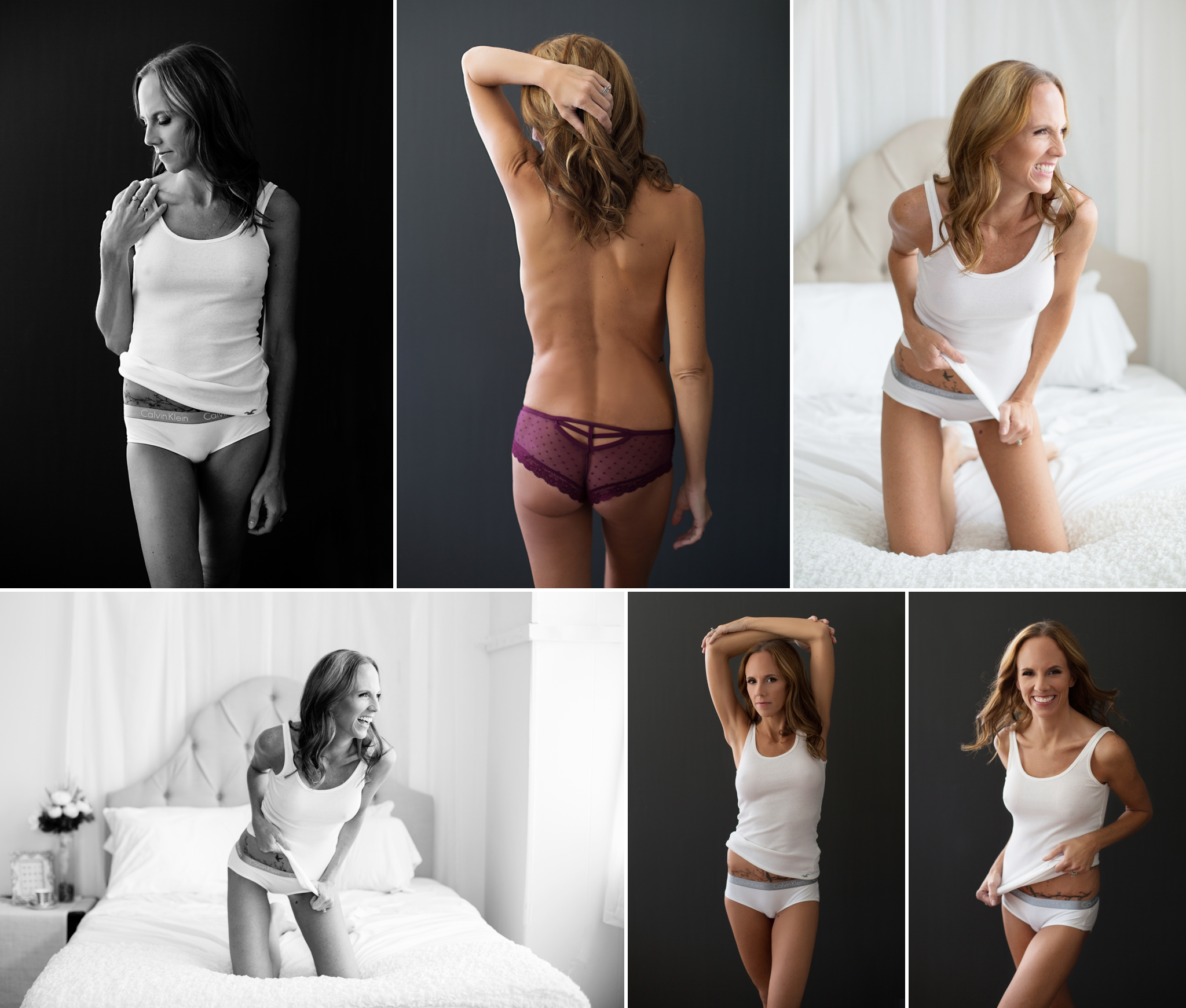 Sasha Dale Photography, surrogate mother, boudoir portraits, ribbed shirt, sexy casual
