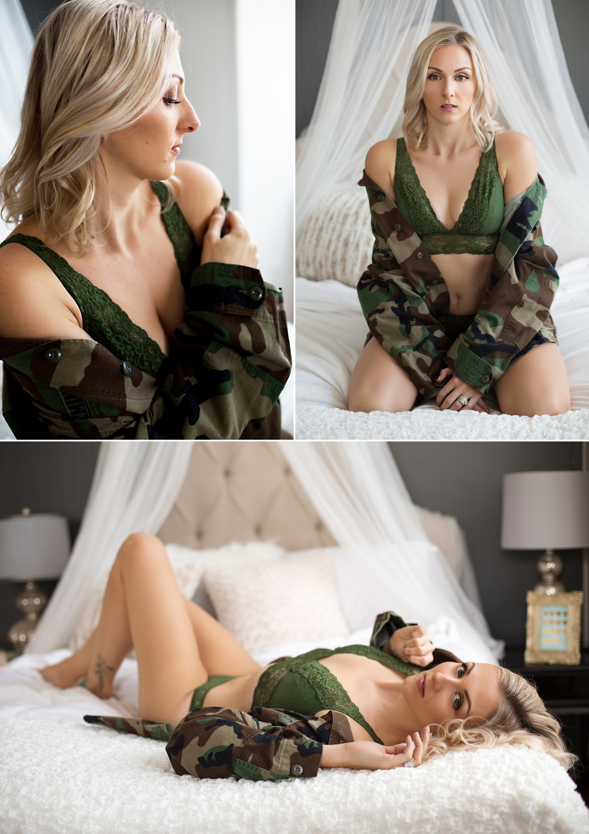 Sasha Dale Photography, military spouse, boudoir photography, camoflage