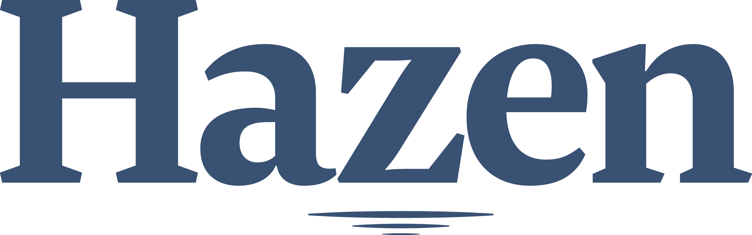 Hazen and Sawyer, an engineering firm that helps clients provide safe drinking water to their customers, and control water pollution and its effects on the environment.