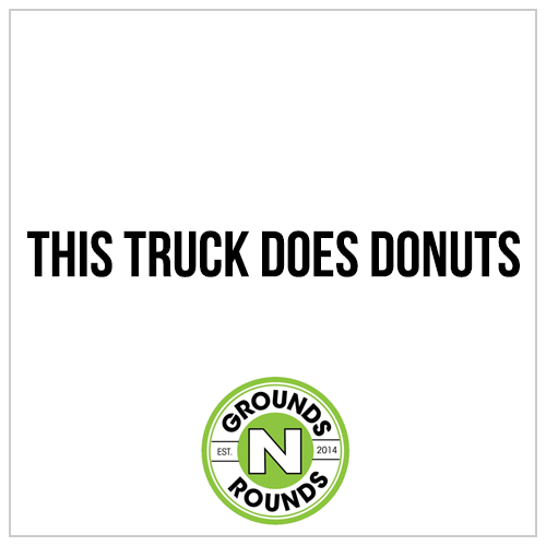 A donut food truck.