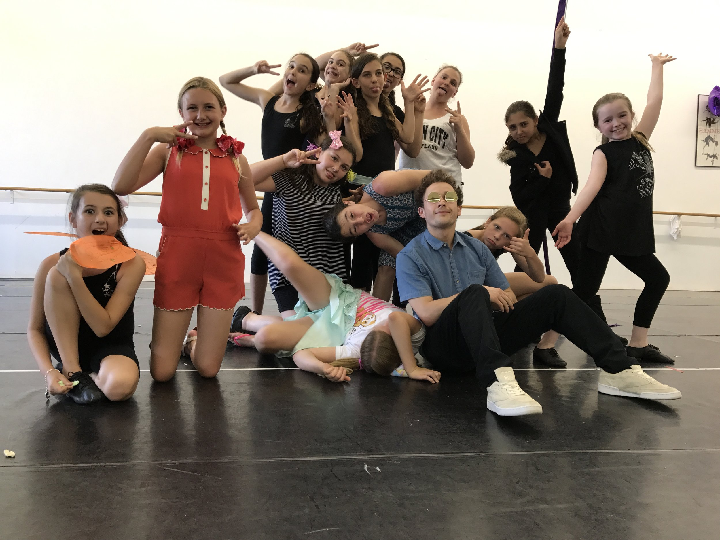 Ovations Dance  - At Ovations Dance Academy in Long Island, Tovi teaches 4 acting classes and 2 dance classes to students of varying ages and skill sets.