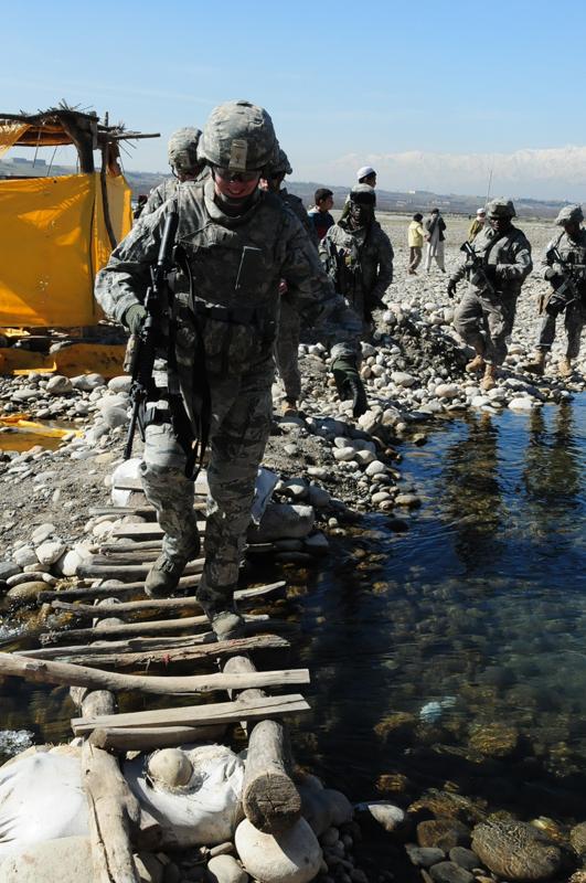 Afghanistan Deployment woman