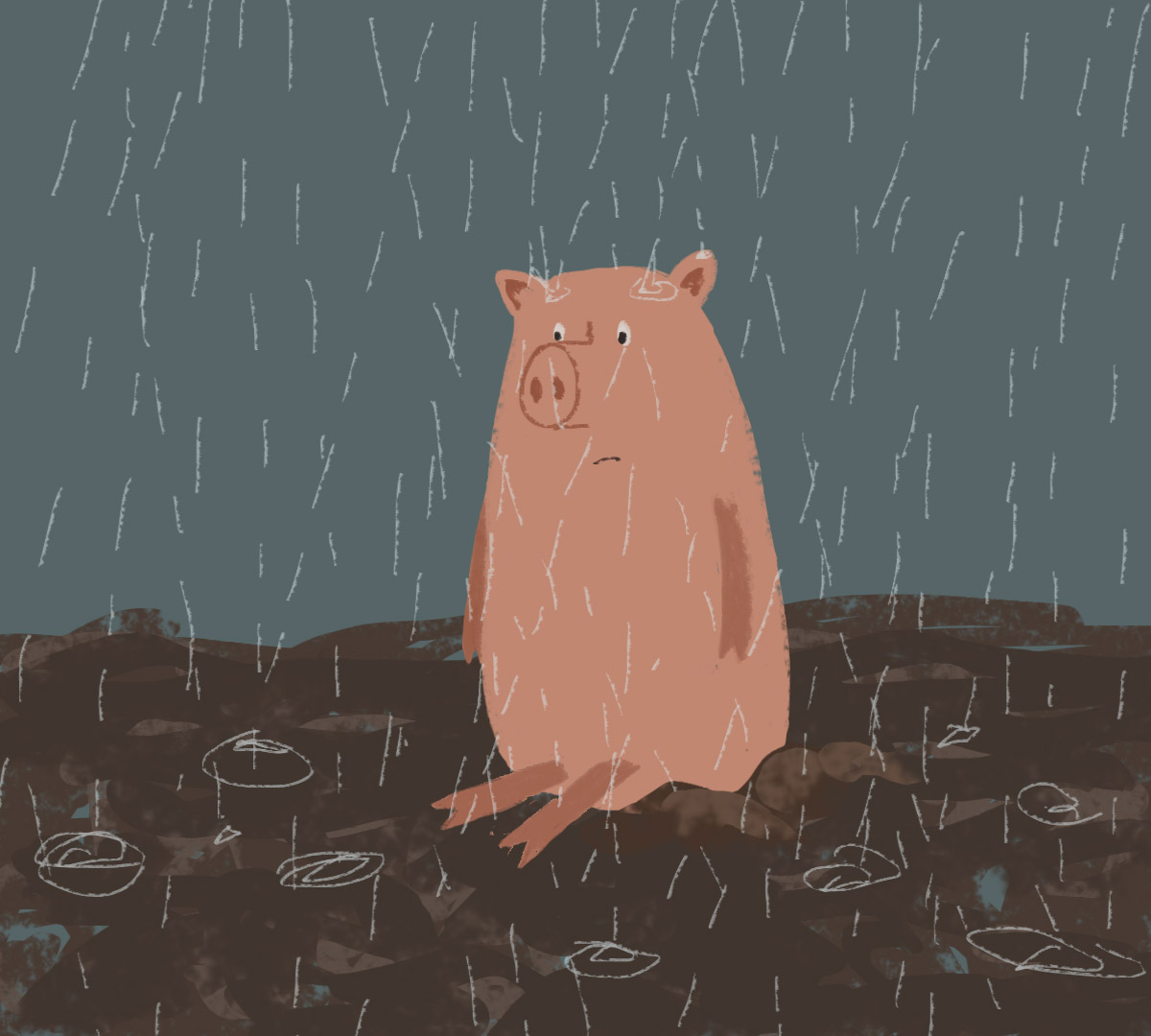 day 15 - pig in the mud.jpg