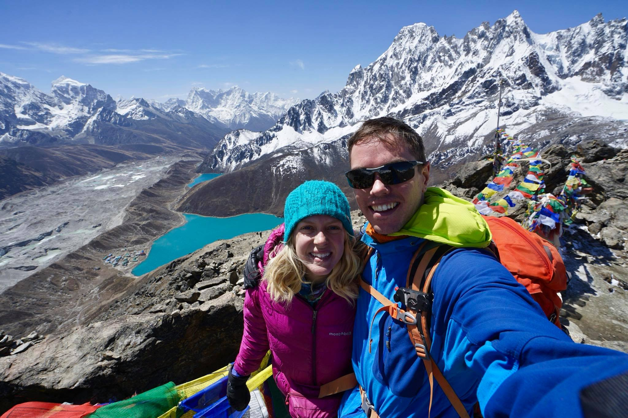 Trekking on a 3-week trip in the Himalayas in May 2018.