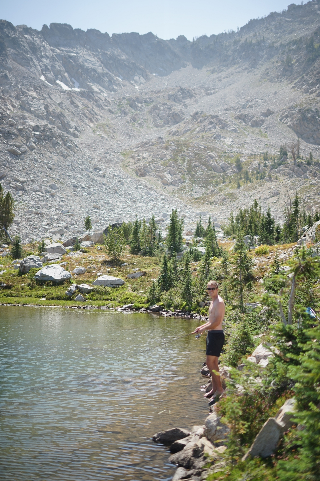 Backpacking in the Sawtooths of Idaho