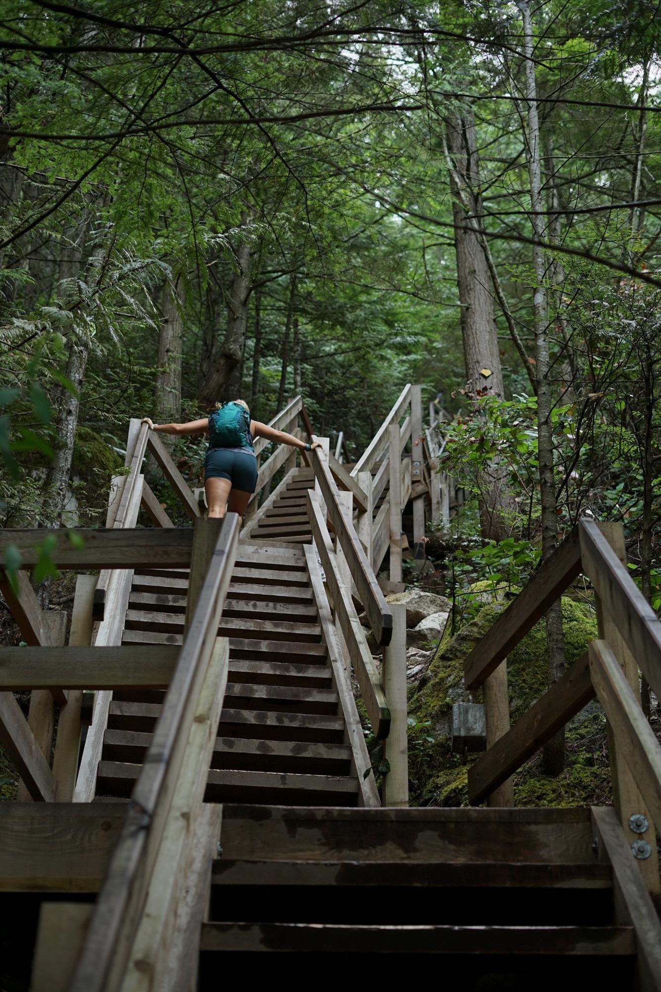 It's steep!