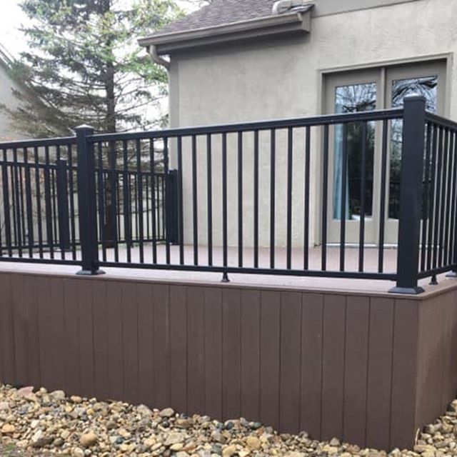Another customer with a composite deck and just in time for nicer weather. Schedule yours now and beat the rush and have the rest of the summer to enjoy it !!!