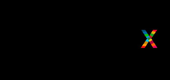 """Uppercase black """"IMPACT"""" letters, lower Sustainable Development Goal (SDG) """"x"""""""