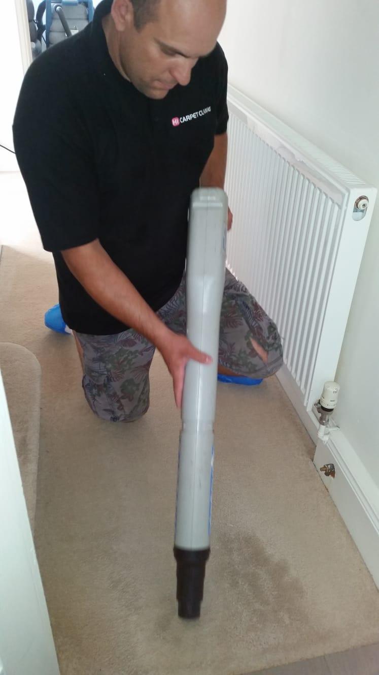 carpet cleaning gun