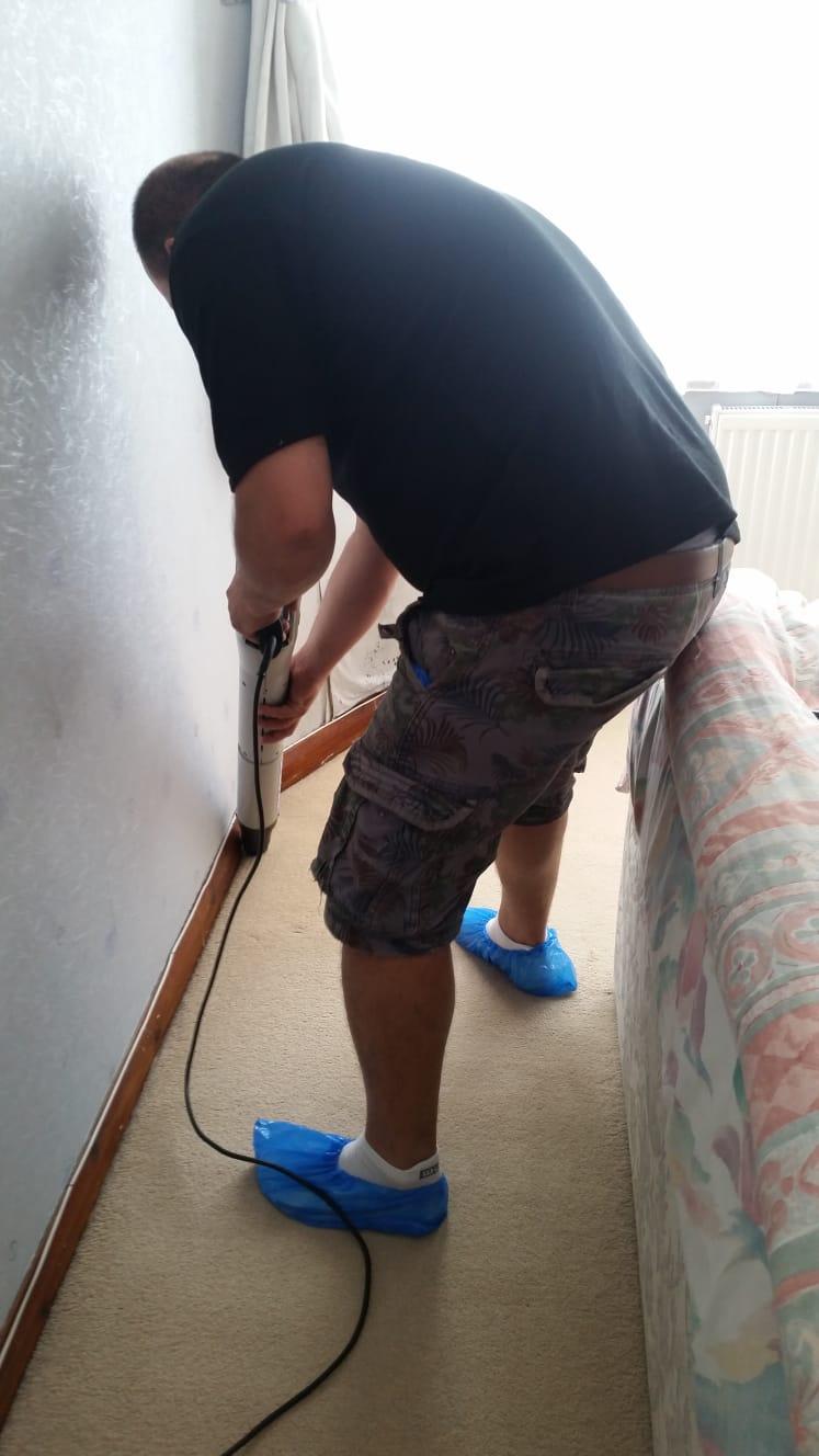 carpet edge clean