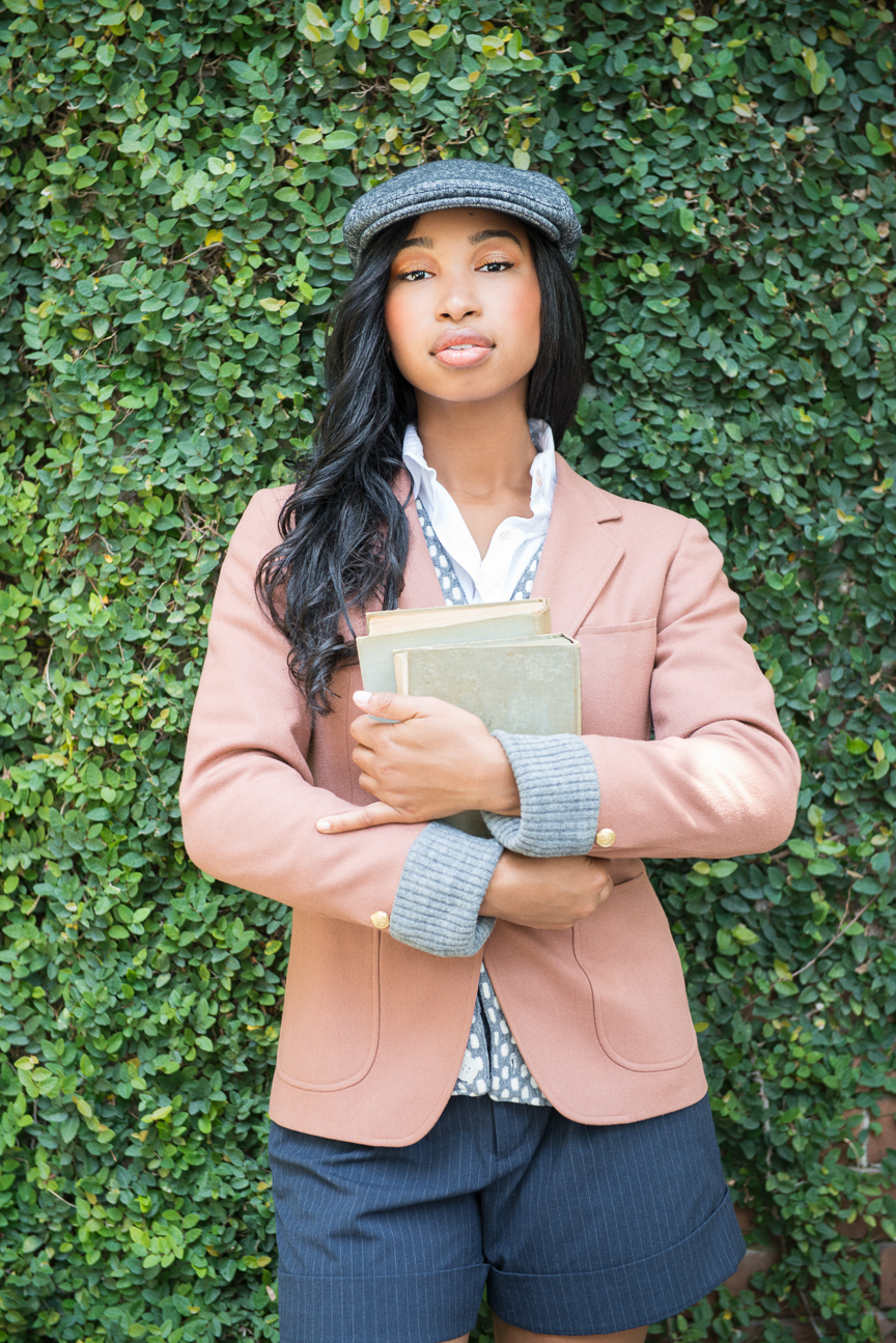 Fall Fashion | College Fashion | Preppy College Fashion | Fall Outfits | Fall Outfit Ideas | Personal Style | Fall Layering Ideas | Fall Fashion Essentials | Pink Blazer | Newsboy Cap | Blazer Outfits for Women | How to Style a Blazer | Paprika Southern