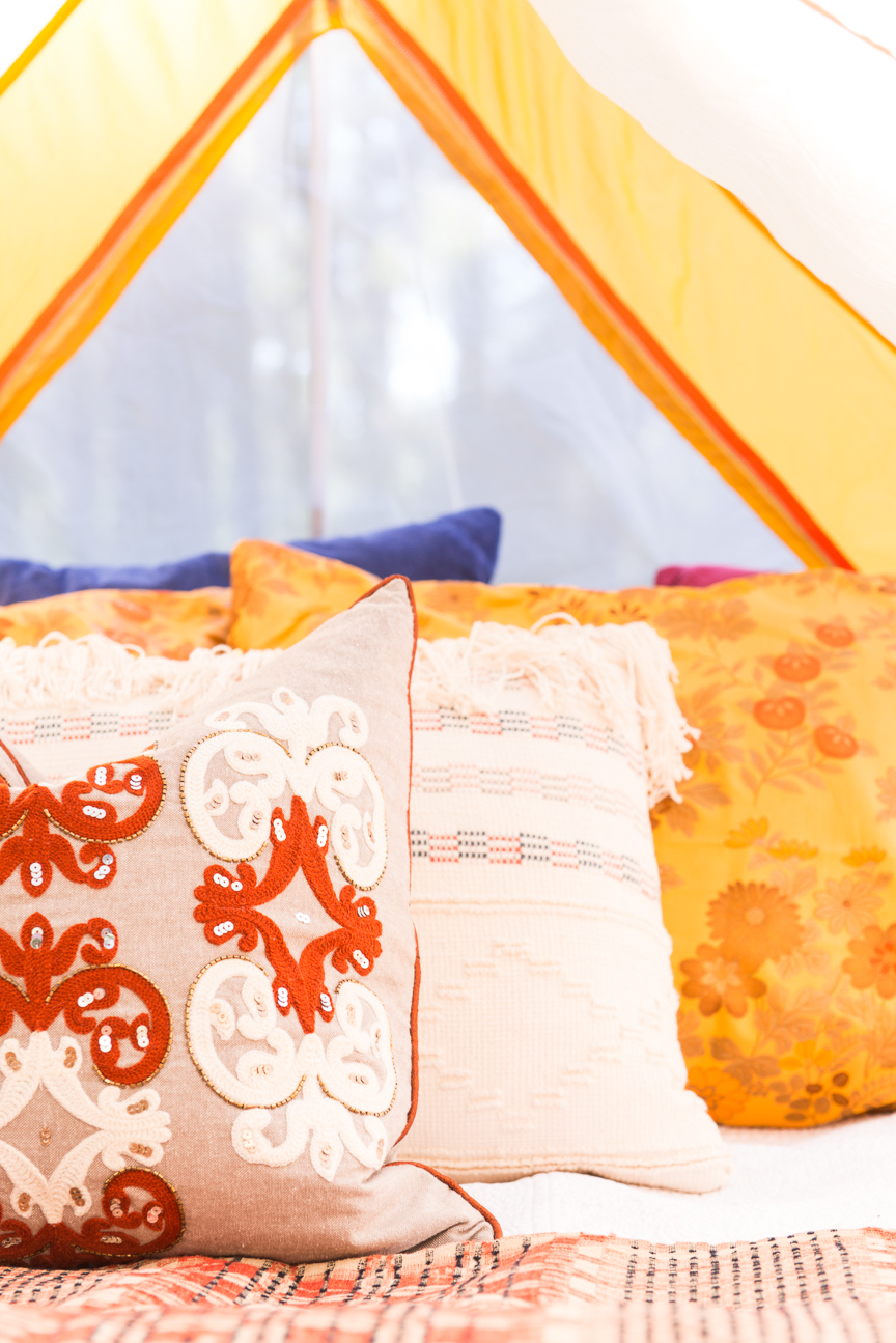 Glamping | Glamping Tent | Glamping Ideas | Glamping Decorations | Fall Vibes | Fall Decor Ideas | Glamping Party | Boho Fall Decor | Cozy Fall Decor | Paprika Southern