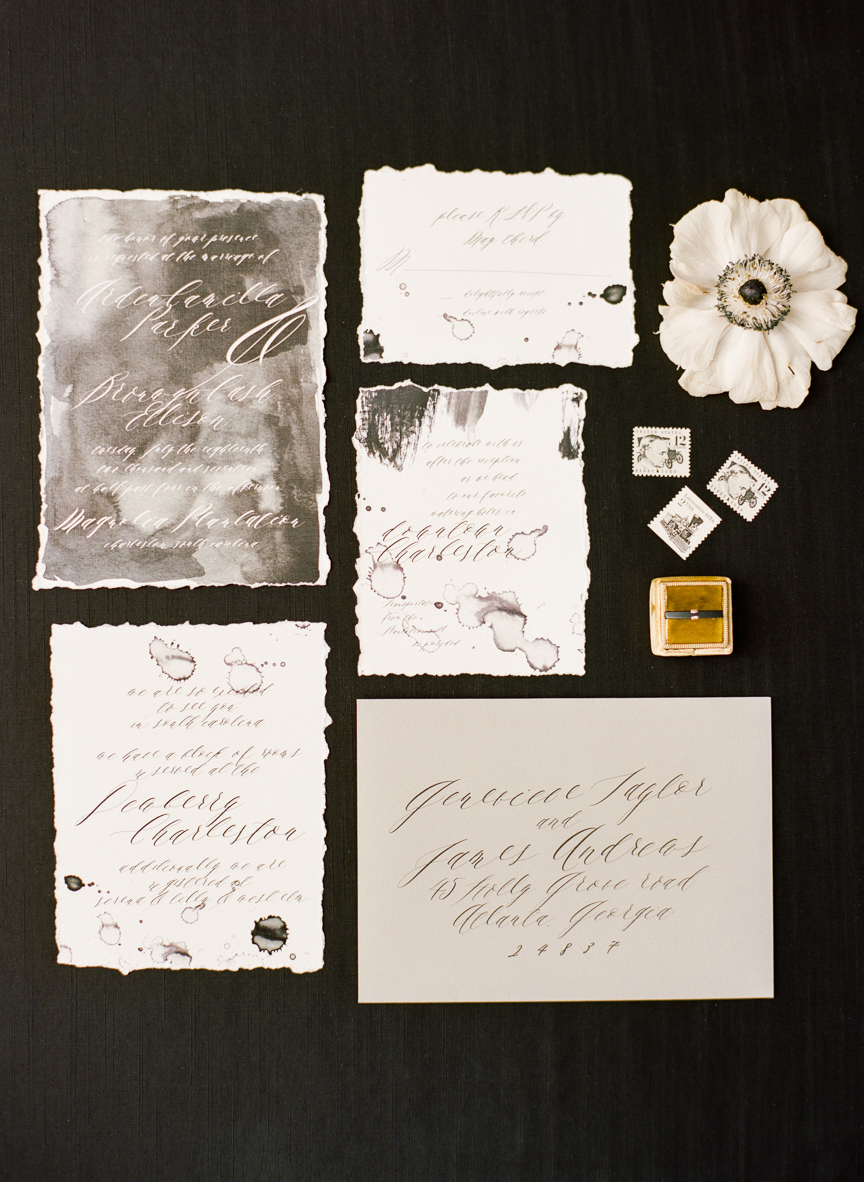 Dark and Moody Fall Wedding Inspiration   Charleston Wedding   Southern Wedding   Fall Wedding Ideas   Fall Bridal Ideas   Halloween Bride   Halloween Wedding Ideas   Lisa Blume Photography   Cheers Darling Planning   Paprika Southern