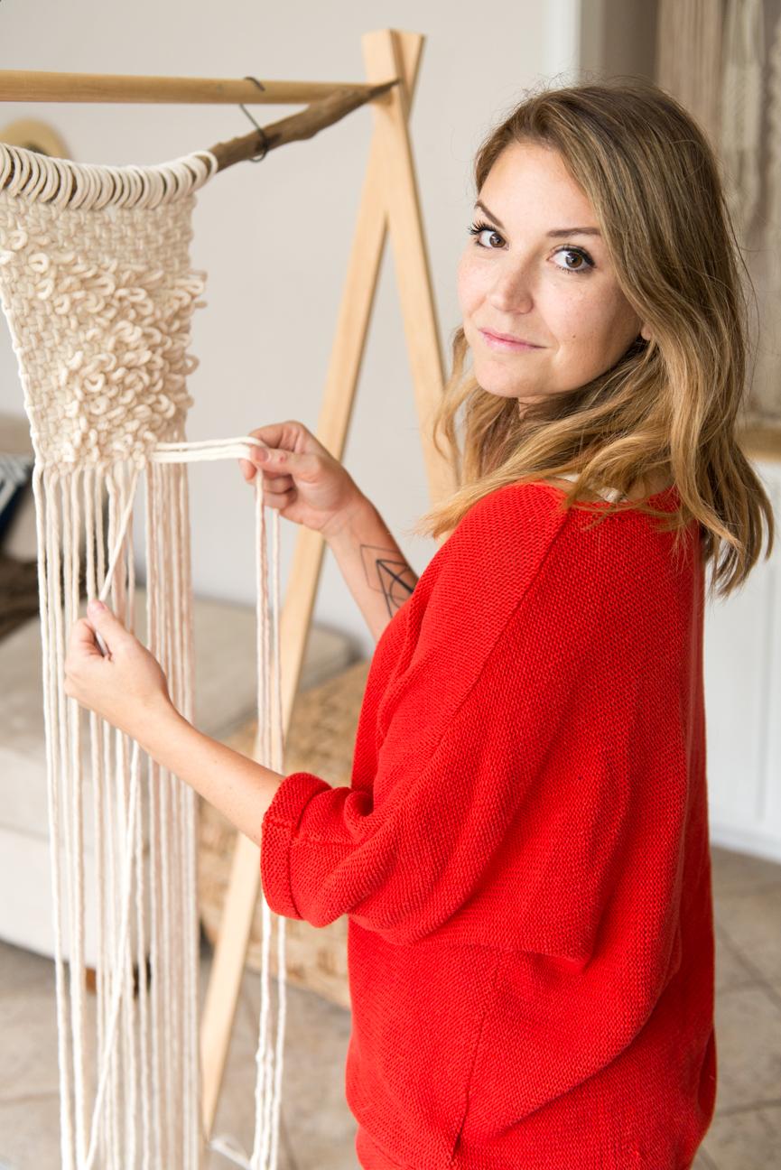 Peculiar Abode | Jess Austin | Macrame, Brunswick, GA | Handmade Home Goods | Textural Fiber Art | Boho Home Goods | Paprika Southern