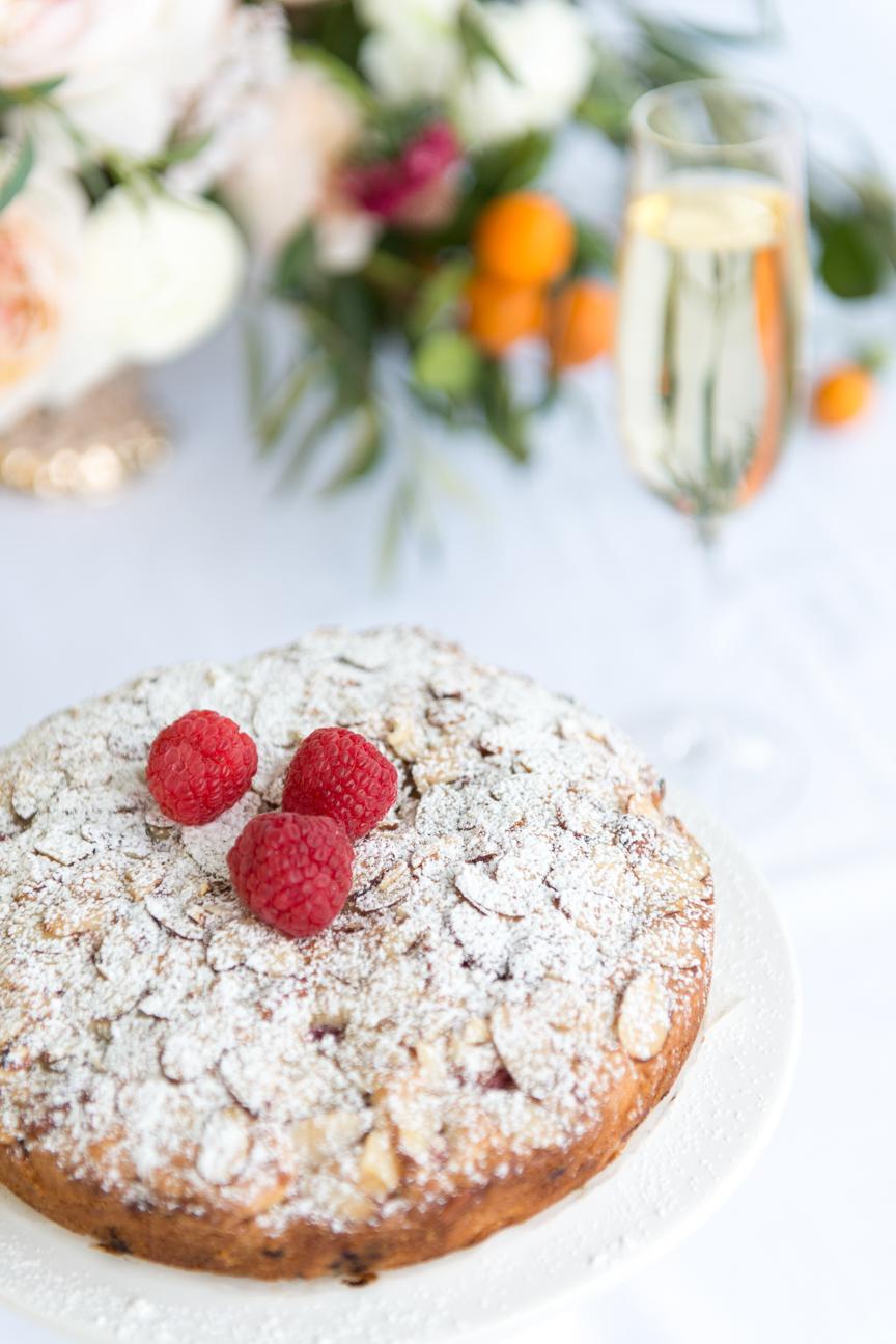 Lemon Almond Tea Cake | Brunch Cake | Valentine's Day Dessert | Romantic Dessert Ideas | Food Styling | Food Photography | Citrus Dessert | Citrus Brunch Ideas | Romantic Brunch Dessert | Food Styling Ideas | Food and Prop Styling | Paprika Southern