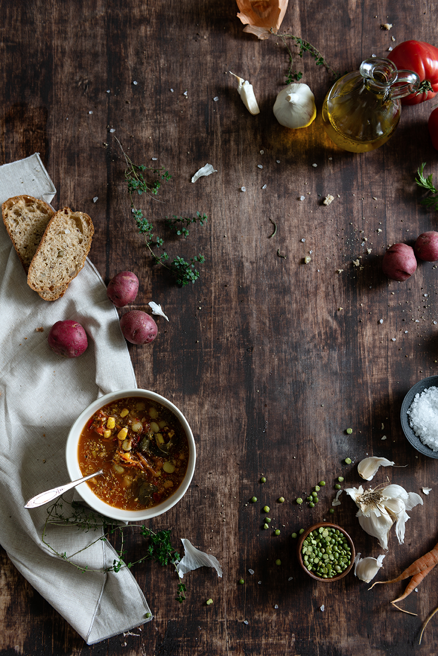 Paprika Southern | Loop It Up Savannah | Fundraiser | Soup It Up for Loop It Up | Soup | Vegetarian Soup | Vegan Soup | Winter Food | Vegetable Soup | Veggie Soup | Comfort Food | Food Styling | Food Photography | Food and prop Styling | Prop Styling | Food Styling Ideas | Food Photography Ideas