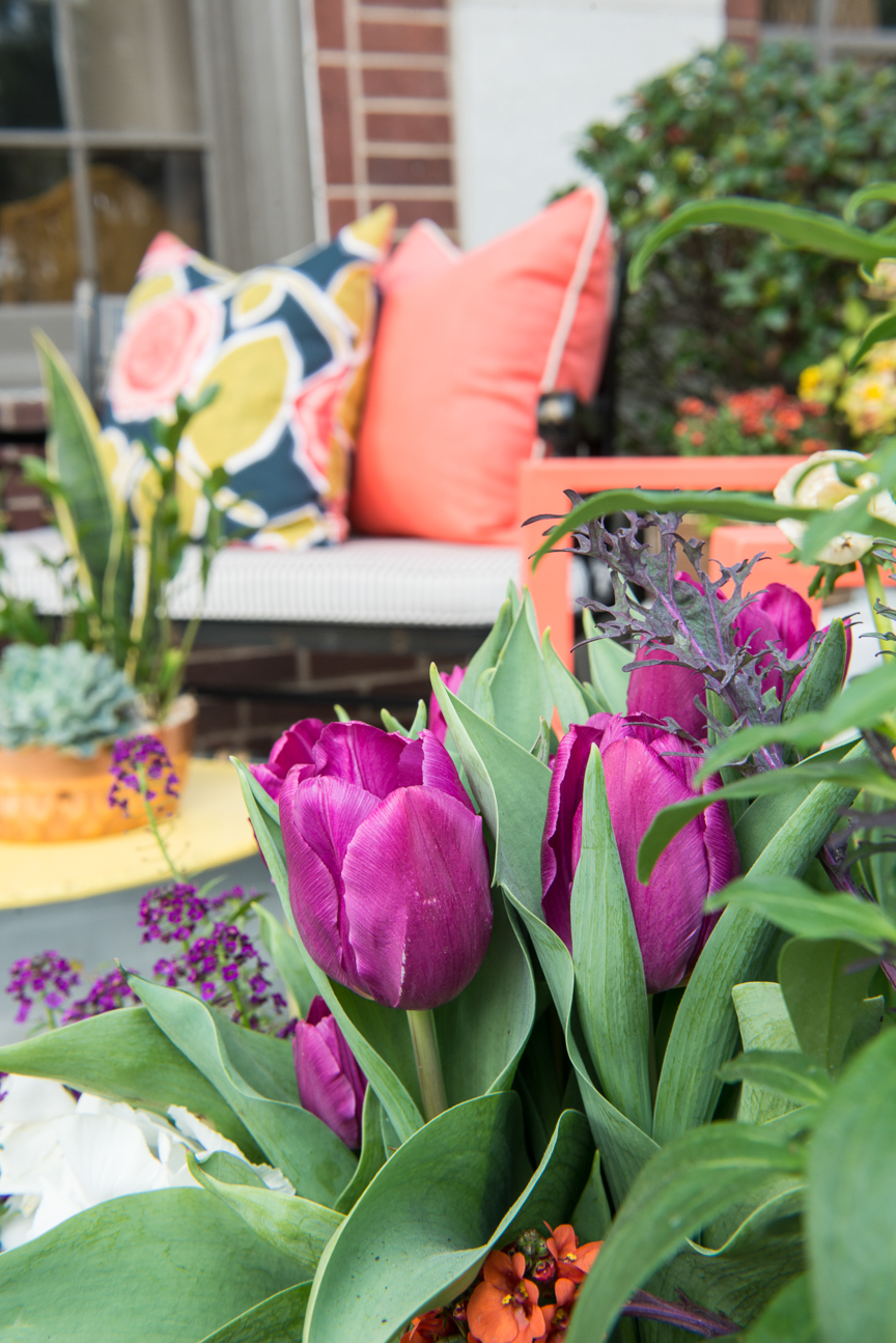 How to Update Your Porch for Spring | Front Porch | Front Porch Refresh | Patio Ideas | Outdoor Entertaining | Patio Refresh | Southern Porch | Colorful Porch Ideas | Porch Ideas for Spring | Porch Decorating Ideas | Paprika Southern