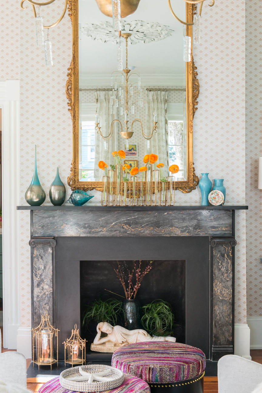 Charleston Symphony Orchestra League Designer Showhouse 2017 | Interior Wall Trends | Home Decor | Southern Home | Southern Style | Interior Design | Interior Decor | Wallpaper | Paint Colors | Home Decor Trends | Home Decor Ideas | Interior Decor Ideas | Paprika Southern
