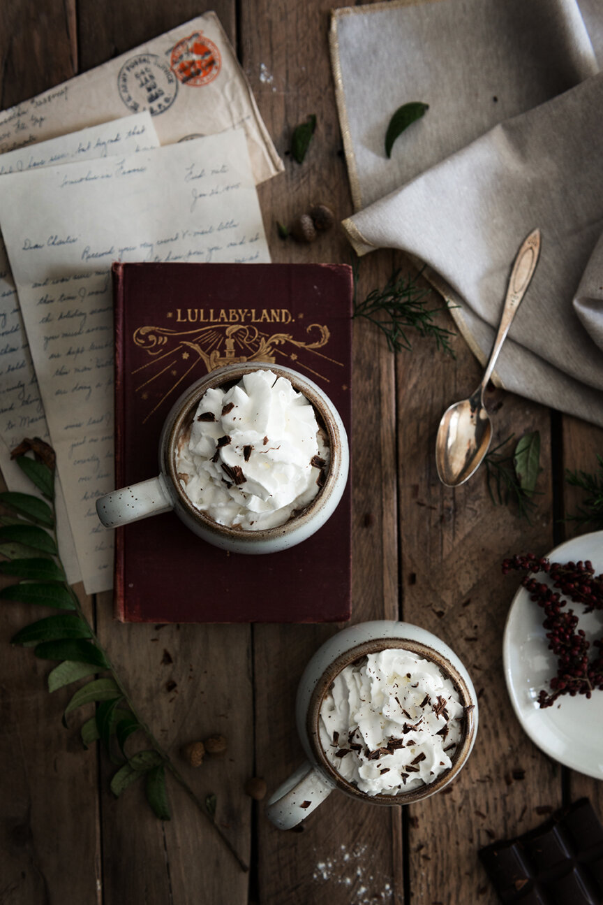 Food Photography | Food Styling | Hot Chocolate | Winter | Food Photography and Styling | Prop Styling | Still Life | Holiday Morning | Winter Morning | Visual Storytelling | The Art of Visual Storytelling | Visual Storyteller | Paprika Southern