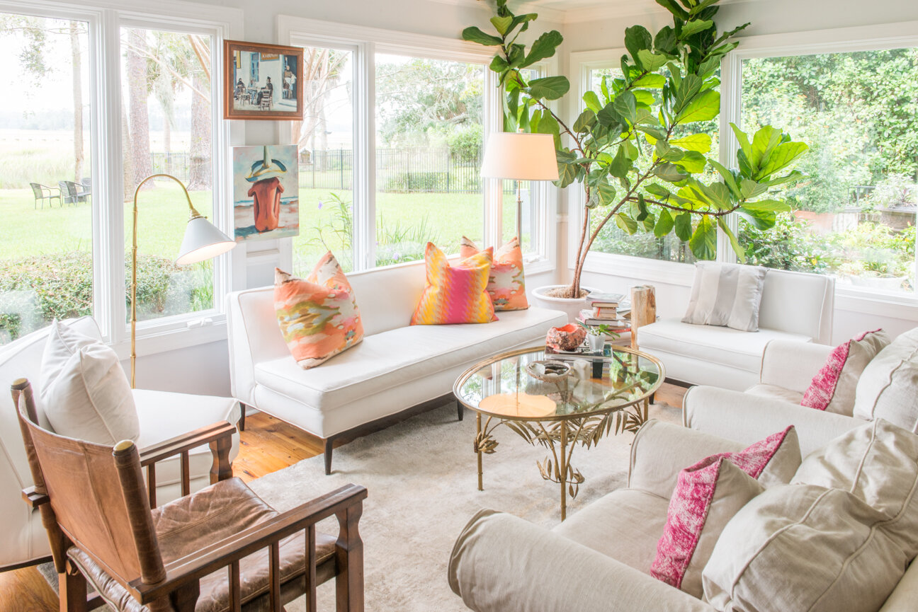 Soulful and Storied   At Home with Bellamy Murphy   Southern Home   Home Decor   Coastal Home Decor   Interior   Interior Inspiration   White Living Room   Living Room Ideas   Home Decor Ideas   Interior Decor   Paprika Southern