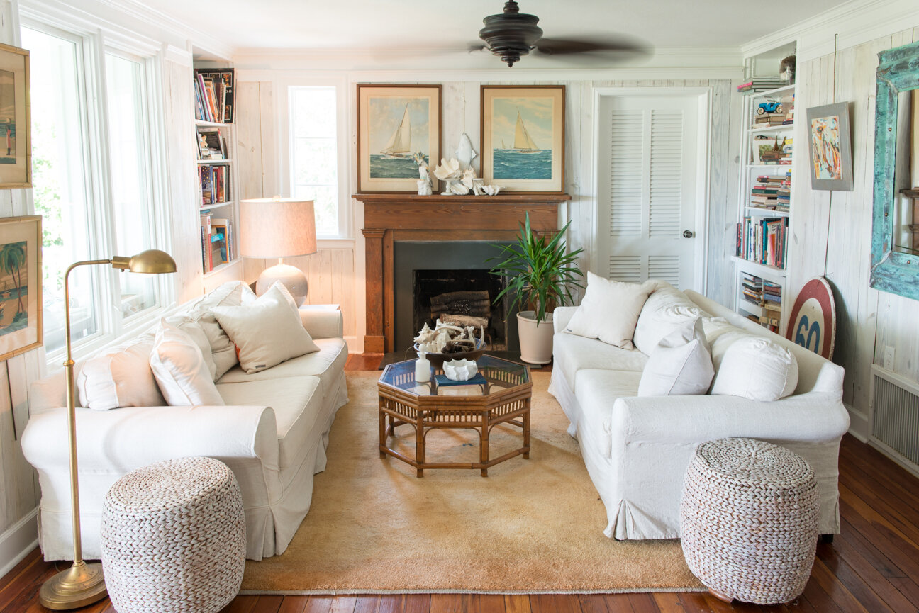 Soulful and Storied   At Home with Bellamy Murphy   Southern Home   Home Decor   Coastal Home Decor   Interior   Interior Inspiration   Den Ideas   Fireplace Ideas   Home Decor Ideas   Interior Decor   Paprika Southern