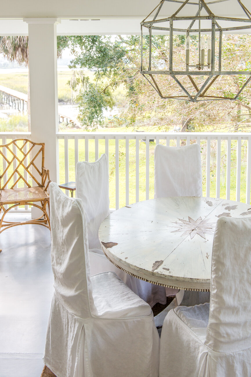 Soulful and Storied   At Home with Bellamy Murphy   Southern Home   Home Decor   Coastal Home Decor   Interior   Interior Inspiration   Porch Ideas   Fireplace Ideas   White Porch   Home Decor Ideas   Interior Decor   Paprika Southern