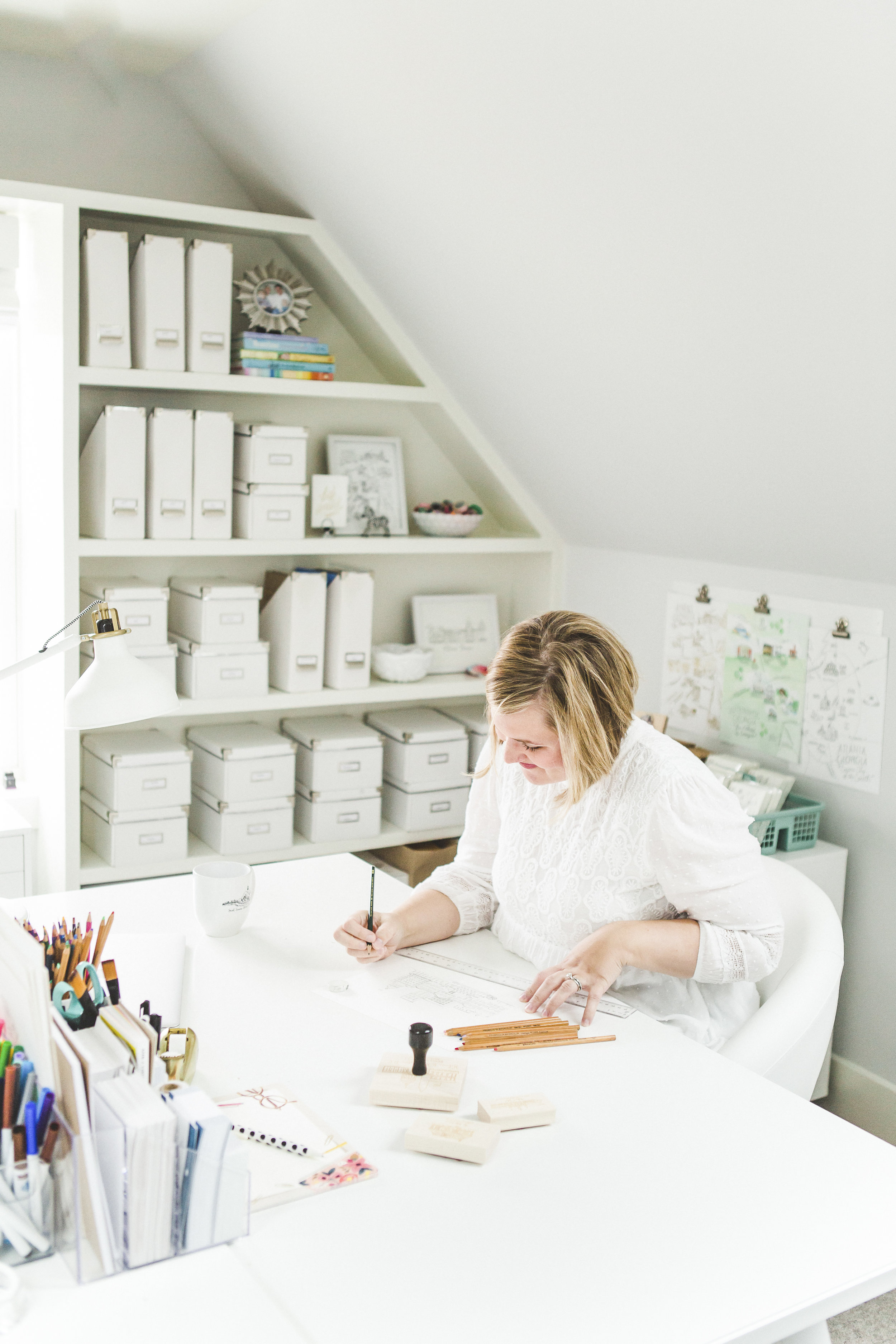 Natalie Kilgore   Natty Michelle Paperie   Athens, GA   Stationery   Illustrator   Maker   Artist Studio   Paper Goods