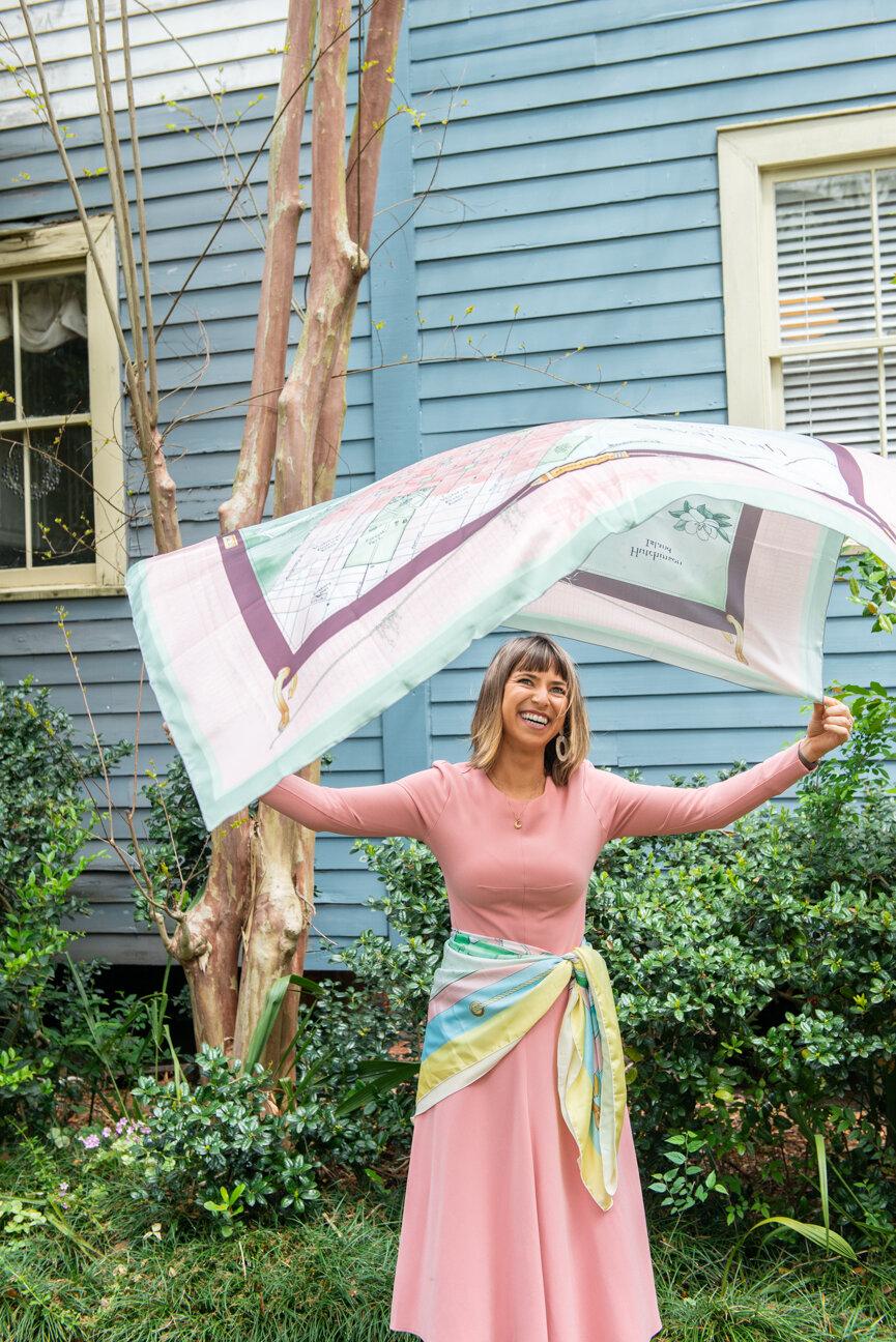 Gunner's Daughter   Erin Findlay   Maritime Accessories, Savannah, GA   Women's Accessories   Scarves   Designer Bags   Independent Maker   Paprika Southern
