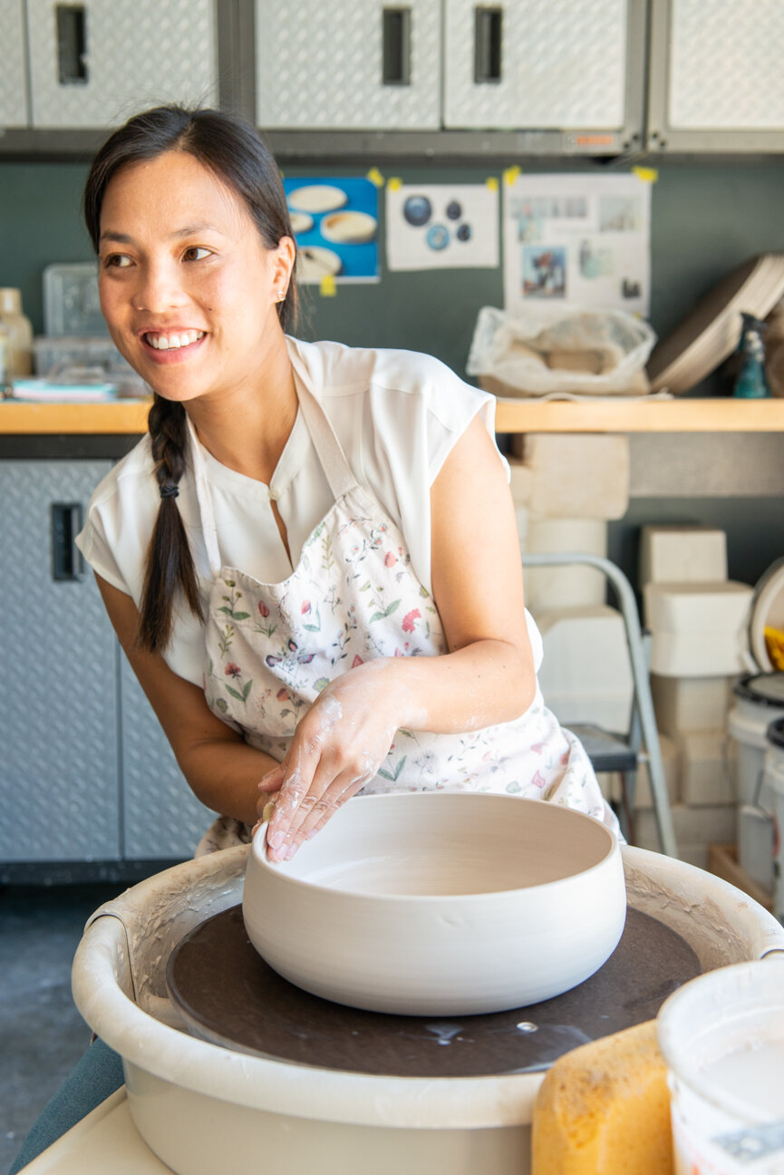 Design by Vu   Trang Vu   Hand-thrown Ceramics, Savannah, GA   Pottery   Ceramic Dishes   Artist Studio   Ceramic Home Goods   Paprika Southern