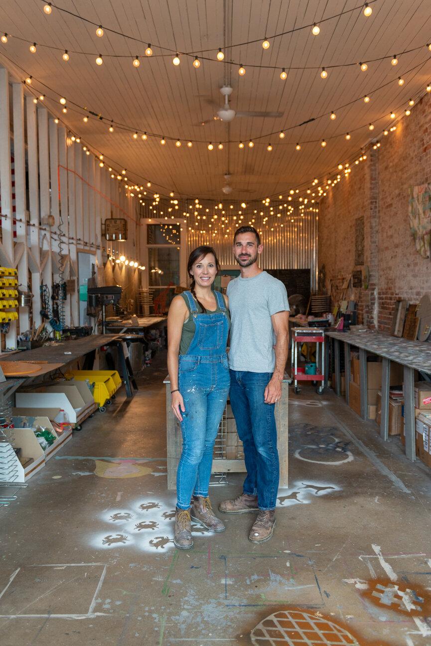 Grace Graffiti   Home Decor, Brunswick, GA   Whitney and David Herndon   Wooden Wall Art   Independent Makers   Paprika Southern