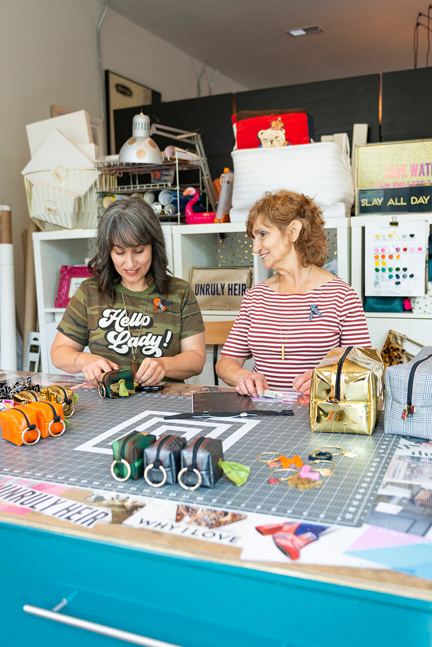 Love & Moxie   Handmade Accessories Savannah, GA   Mother Daughter Team   Danielle and Renee White   Independent Makers   Savannah, GA