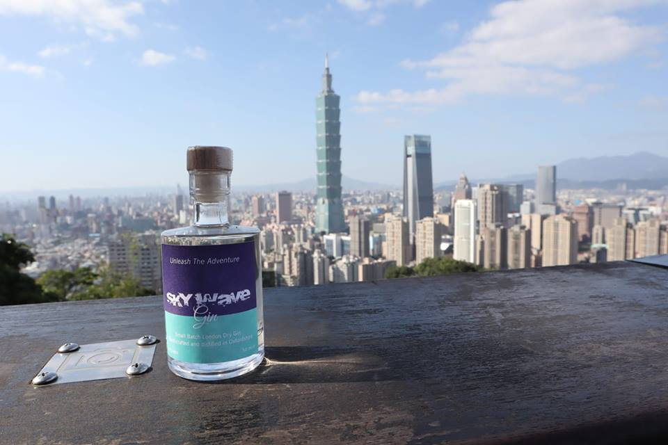 Sky Wave Gin travels to Taipei, Taiwan