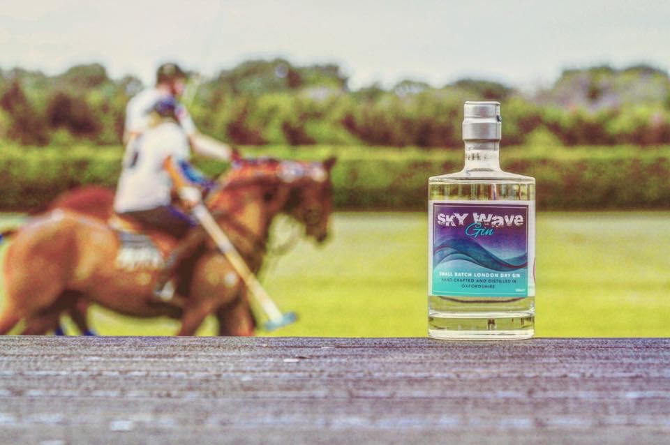 Sky Wave Gin was popular at Kirtlington Polo Club