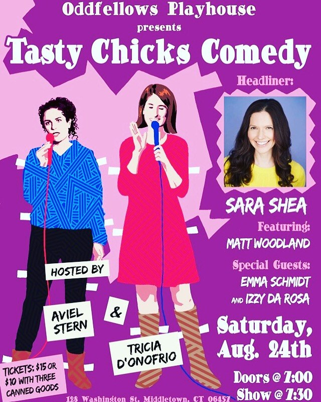 Sara Shea & The Tasty Chicks - Show at 7:30 pm