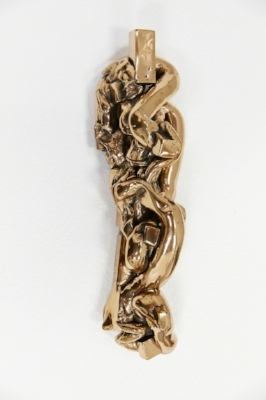 Fluid  High Polished Bronze 4 1/2 × 16 × 4 in; 11.4 × 40.6 × 10.2 cm 2016 Witness Edition