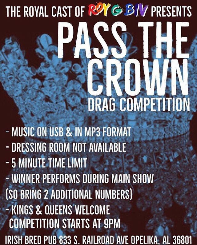⭐️TONIGHT⭐️ can't wait to see everyone at IBP for the Pass the Crown Drag Show!! #IBP #theplacewherefriendsmeet