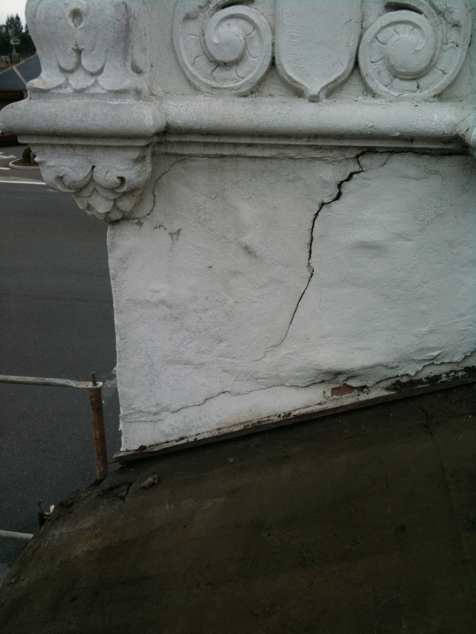 Cracked Stucco