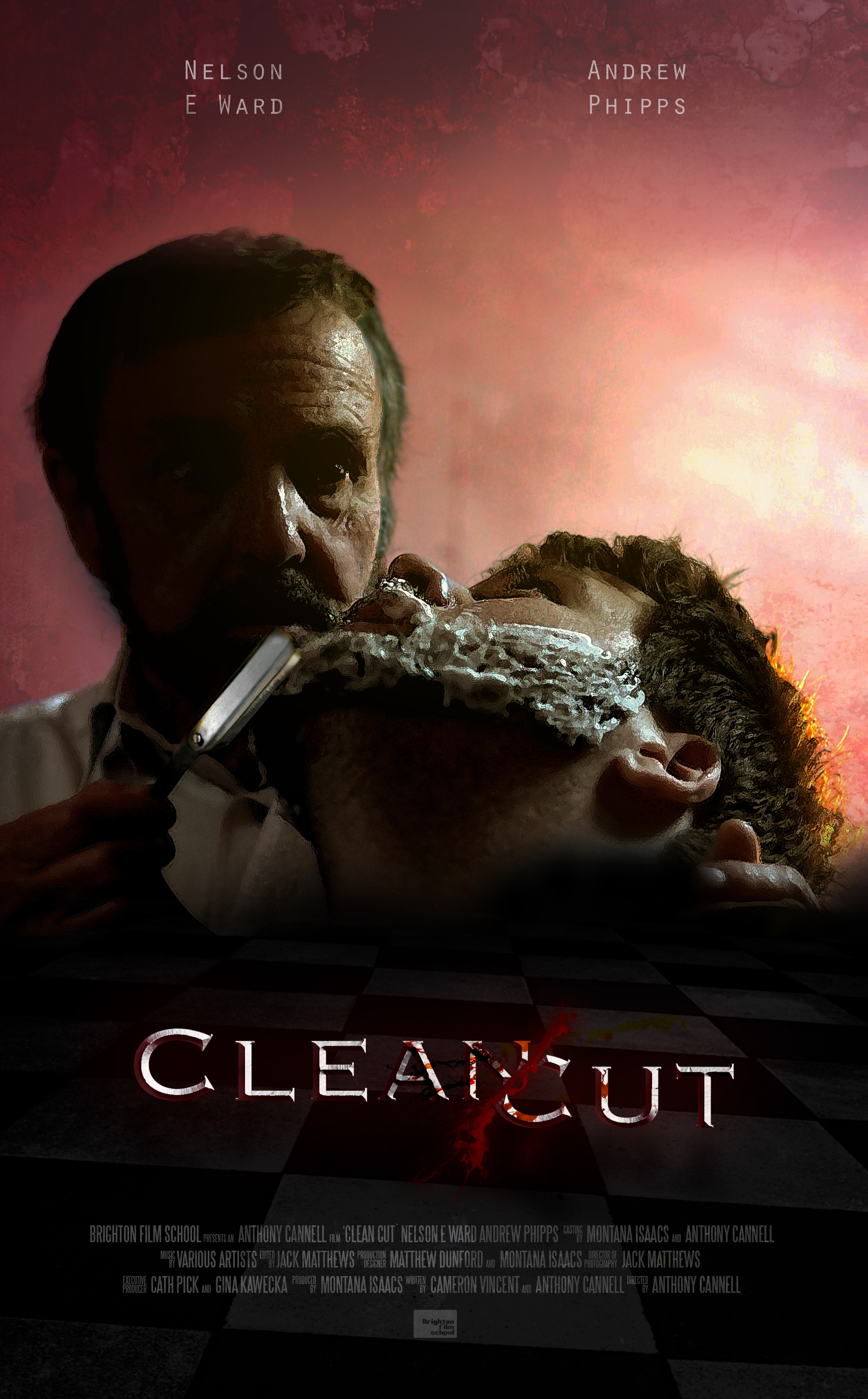 """Official Poster for """"Clean Cut"""""""