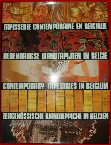 """Cover: L.L. Sosset: """"Hedendaagse wandtapijten in België"""", Editions du Perron, Luik, 1989, 292 pp."""